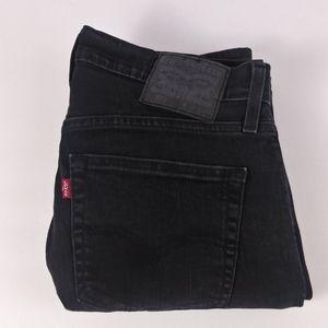 Levi's 559 black straight leg jeans size 32 X 32